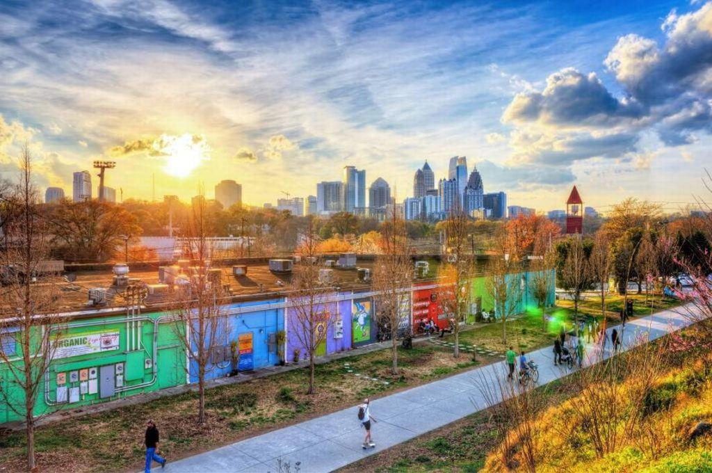 Things to do on the atlanta beltline trail alexan eav for Painting places in atlanta